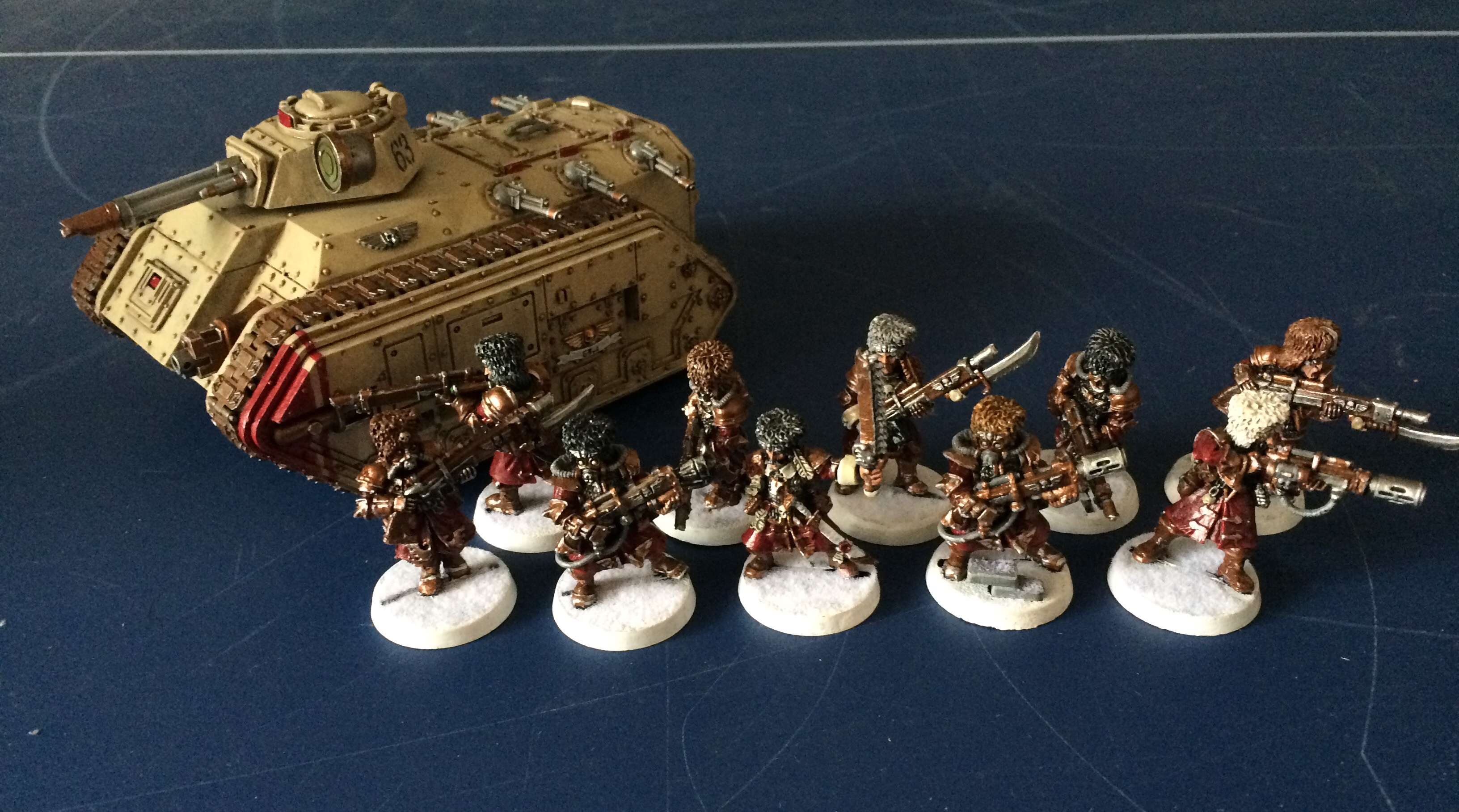 Cadian Command SQUAD BRAS GAUCHE Chainsword-bits 40K