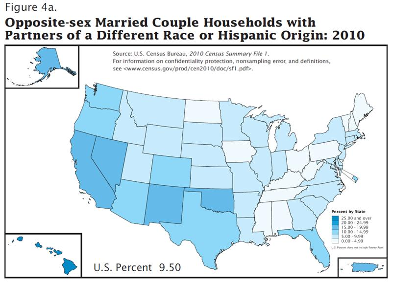 Join. percentage of interracial marriages 1955