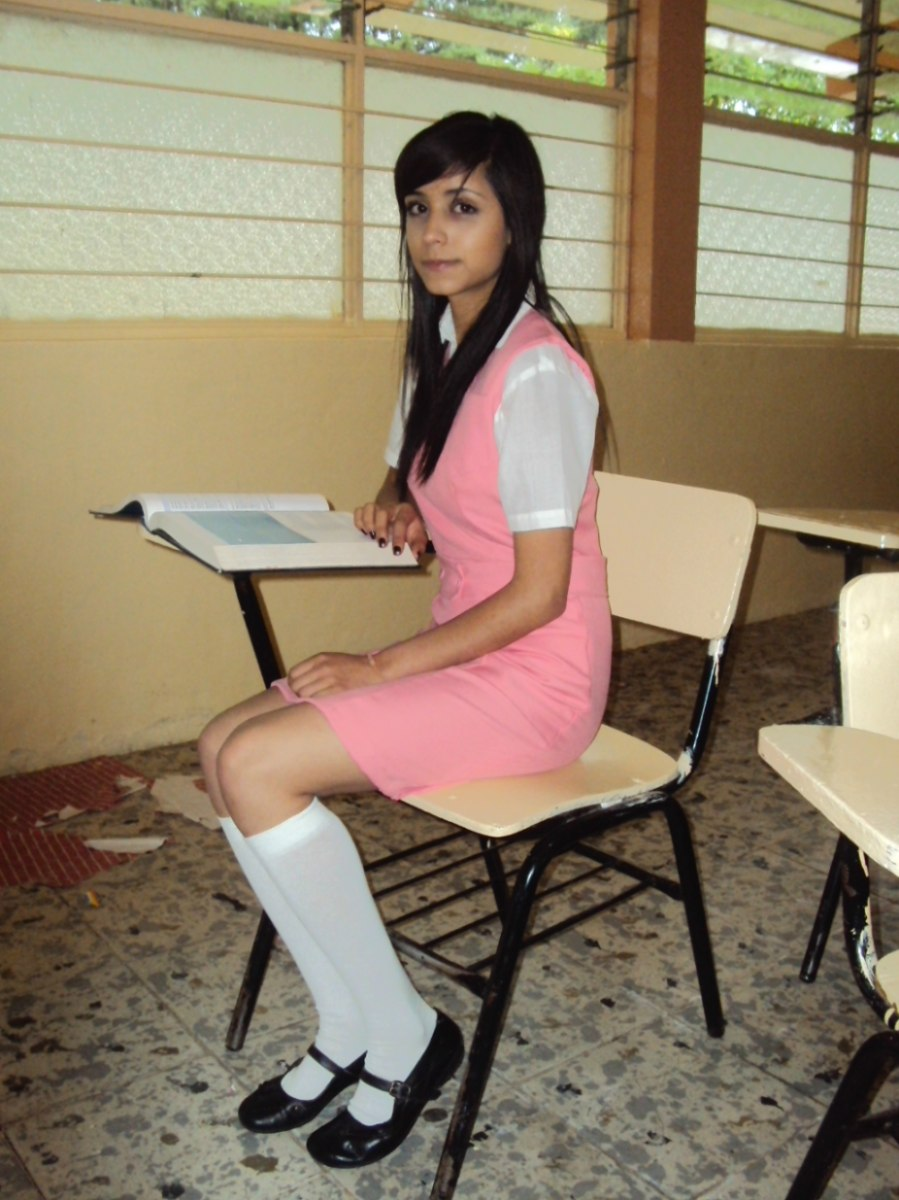 Chava de secundaria despues de clases - 3 part 9