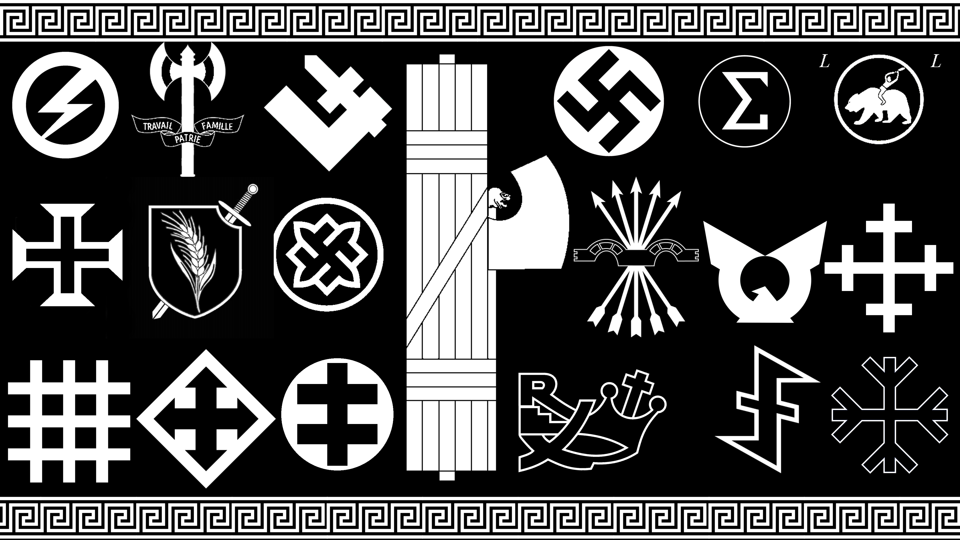 Old Symbols Of Fascism Clipart Library
