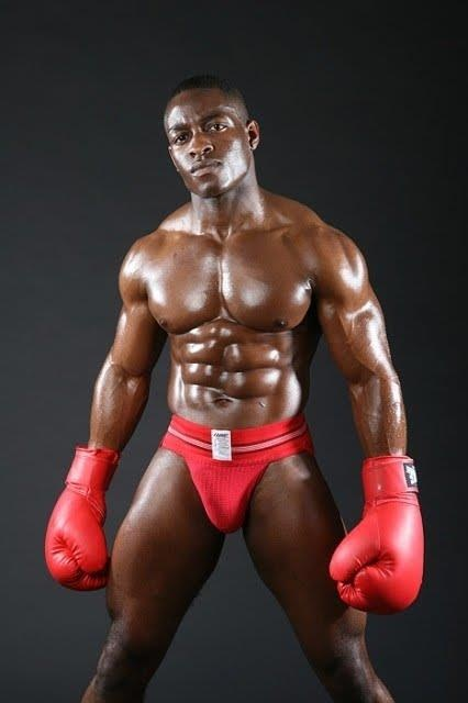 men gay black muscular