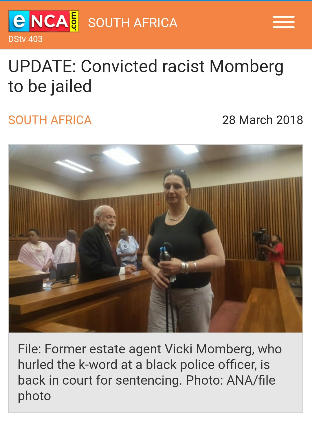 Vicky Momberg ordered to pay policeman R100k for hate speech