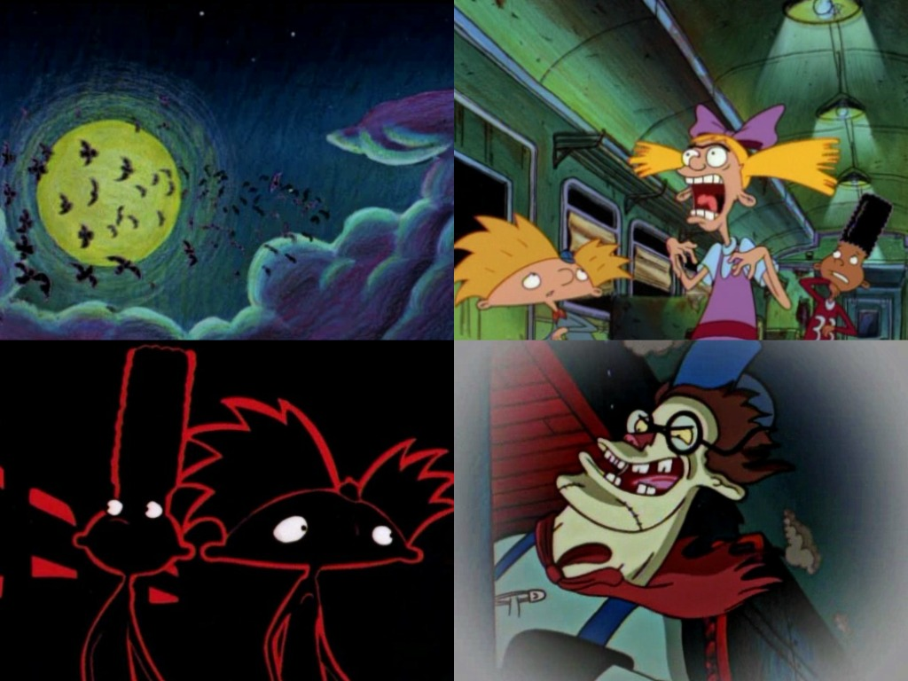 hey arnold halloween episodes | hallowen